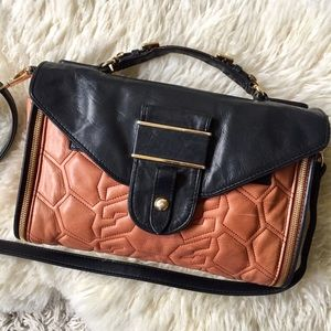 ✨HP✨Rebecca Minkoff Leather Satchel